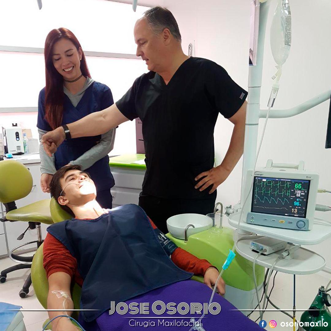 osorio maxilo Facial cirugía Sedacion endovenosa